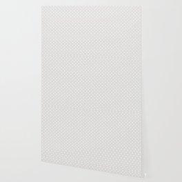 Dots (White/Platinum) Wallpaper