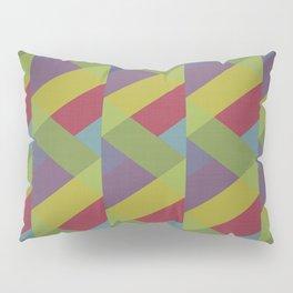 Ribbon Geometry Pillow Sham