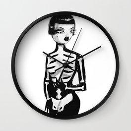 Pearl, The Girl Wall Clock