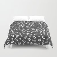 tape Duvet Covers featuring Tape  by icantdance