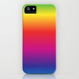 Rainbow Gradient iPhone Case