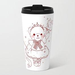 The Adventures of Bear and Baby Bear-Prima Ballerina Travel Mug