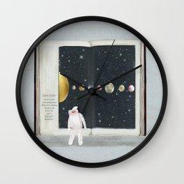 the big book of stars Wall Clock