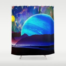 A Sunday Afternoon On The Island Of A Distant Planet Shower Curtain