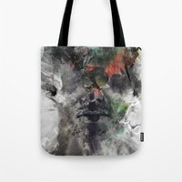 archan nair Tote Bags featuring Another Memory by Archan Nair