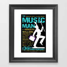 The Music Man Framed Art Print