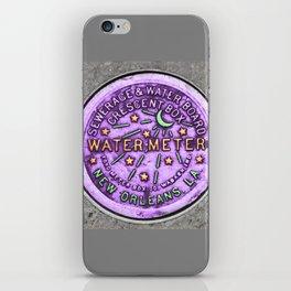New Orleans Mardi Gras NOLA Water Meter iPhone Skin