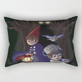 into the unknown Rectangular Pillow