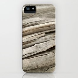 Aged Wood iPhone Case