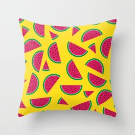 Tutti Fruiti - Watermelon Throw Pillow