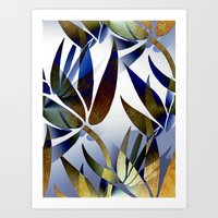 bamboo Art Prints featuring Bamboo by Artisimo