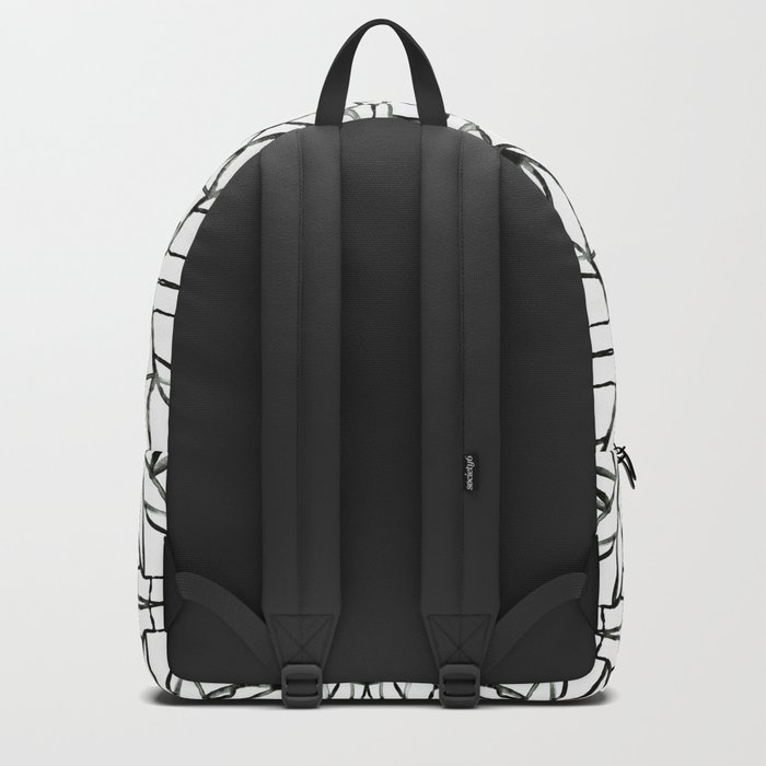 Abstract pattern 91A Backpack
