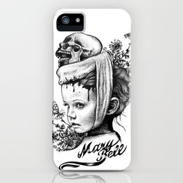 Mary Bell iPhone Case