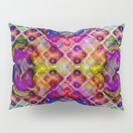 Four-leaved clover abstract ... Pillow Sham