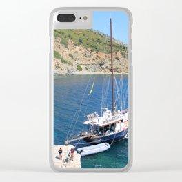 Caicco @Greece Clear iPhone Case
