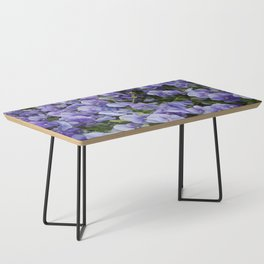 Pansy flower Coffee Table