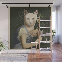 Cat Figure (framed) Wall Mural