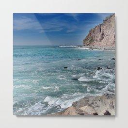 Impression Ocean 1 Metal Print