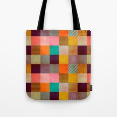 Decorated Pixel   Tote Bag