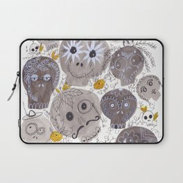 Inktober Sugar Skulls Laptop Sleeve