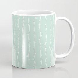 Willow Stripes - Sea Foam Green Coffee Mug
