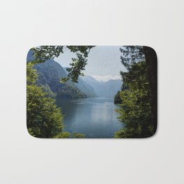 Germany, Malerblick, Mountains - Alps Koenigssee Lake Bath Mat