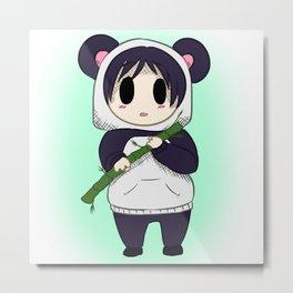 Panda Boy Metal Print