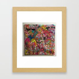 """'Right here, right now"""" by Barrie J Davies 2015 Framed Art Print"""