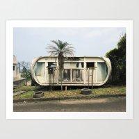 Abandoned Venturo House Art Print
