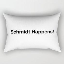 Schmidt Happens New Girl Rectangular Pillow