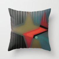alaska Throw Pillows featuring Alaska by Kristine Rae Hanning