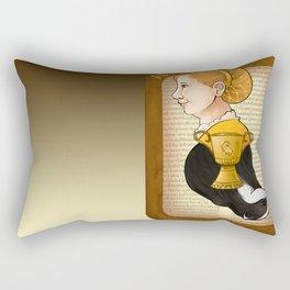 Helga Hufflepuff Rectangular Pillow