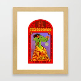 Year of the Dragon (version 2) Framed Art Print