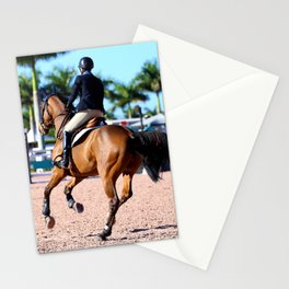 jumping in the palms Stationery Cards