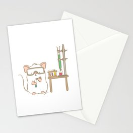 Lab Mouse Stationery Cards