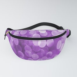 Bokeh Light Purple Tone #decor #society6 #buyart Fanny Pack