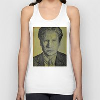 mulder Tank Tops featuring Mulder  by Jenn