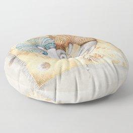 Ferret love Floor Pillow