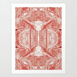 Mezmerize Serie C03 Art Print