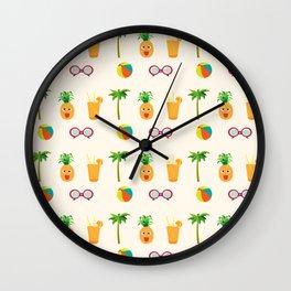 Welcome Summer Wall Clock