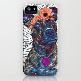 Lola The Pit Bull iPhone Case