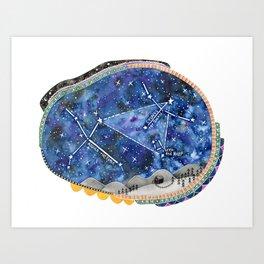Summer Constellation Art Print