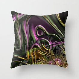 Abstract Pattern No1 Throw Pillow