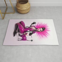 Pink pussy Rug