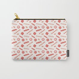 Seasonal Sweets White Carry-All Pouch