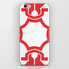 just red iPhone Skin
