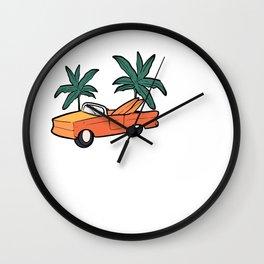 Los Angeles Traveler Gift Wall Clock