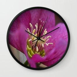 Une Belle Fleur Wall Clock