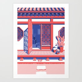 Hanok - Day Art Print