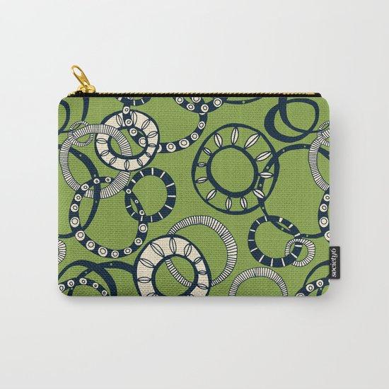 Honolulu hoopla green Carry-All Pouch
